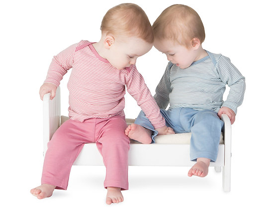 Baby Merino Long Sleeve Top- Super Fine