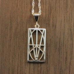 Women's Small Sterling Silver Pendant
