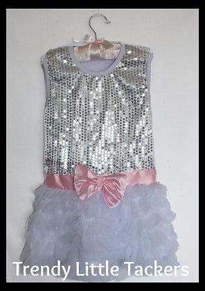 Isabella Sequin Tutu Dress