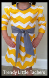 Bailey Chevron Dress
