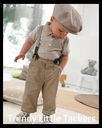Archie Boy Suspender Set