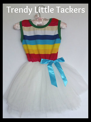 Peyton Rainbow Tutu Dress