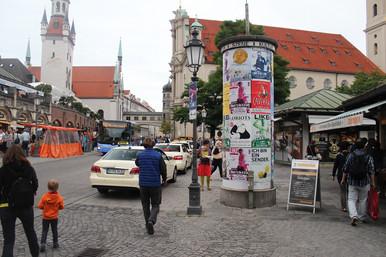 Market place Munich (D)