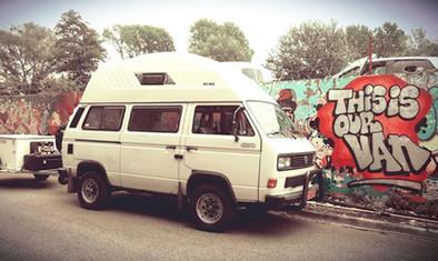 This is our van.