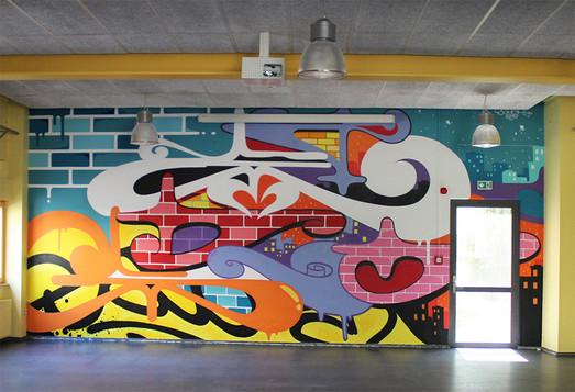 bettembourg, Luxembourg 2016. Street Art, Graffiti,  Like-sader,  Luxembourg , urban art, arabesques, graffitisader,  spraypaint.