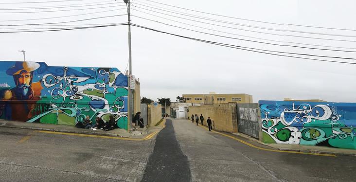 Naxxar, Malta 2019. Street Art, Graffiti,  Like-sader,  Luxembourg , urban art, arabesques, graffitisader,  spraypaint, naxxar, malta,