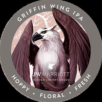 JW Marriott_Griffin Wing IPA_Tap Handle