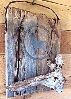 Rustic Wood Wall Decor