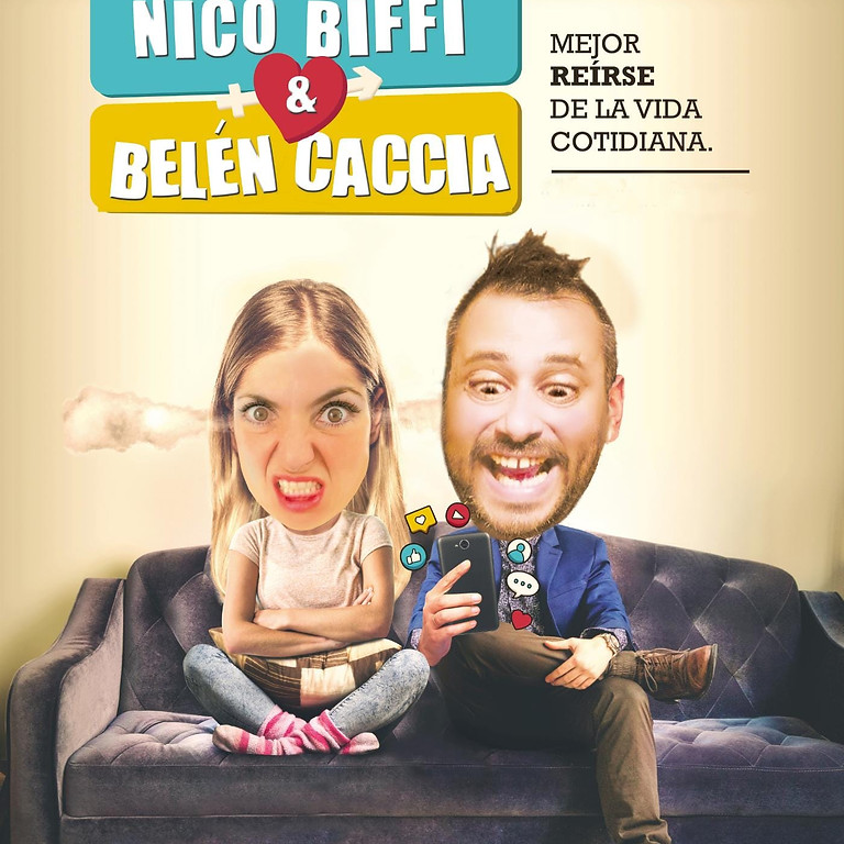Viernes de Comedia con BELEN CACCIA Y NICO BIFFI
