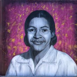 Rosa Parks - Freedom Wall