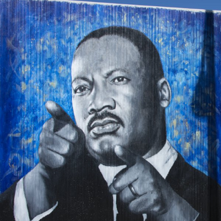 Dr Martin Luther King - Freedom Wall