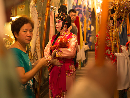Stunning New Exhibition Peeks Behind the Curtain of Chinese Opera