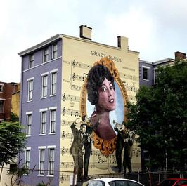 Mamie Smith Mural - ArtWorks Cincinnati