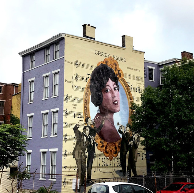 Mamie Smith Mural - ArtWorks Cincinnati