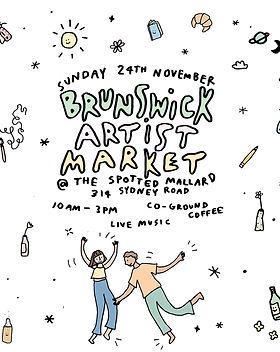 Brunswick Artist Market Poster.jpg