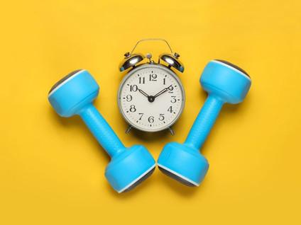 Тренировка утром или вечером?