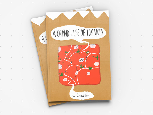 Graphic Design |  A Grand life of tomatoes