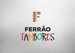 Logotipo Ferrão Tambores