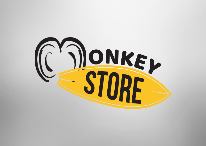 Logotipo Monkey Store