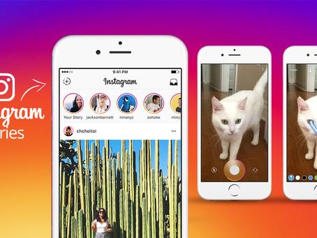 Marcas de áreas diferentes estão usando o Instagram Stories para promover seus produtos