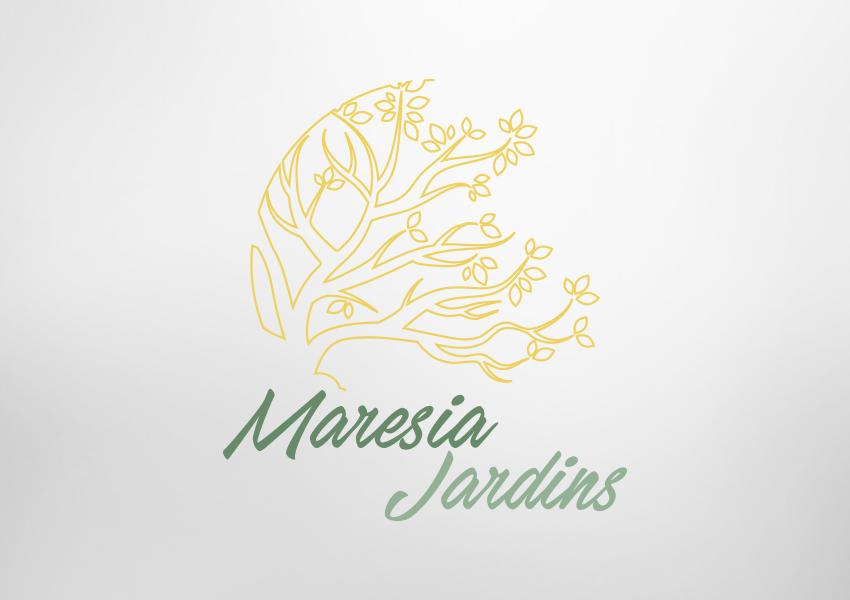 Logotipo Maresia Jardins