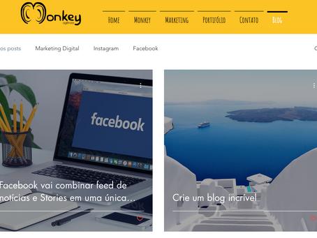 Crie um blog incrível usando o Wix Blog