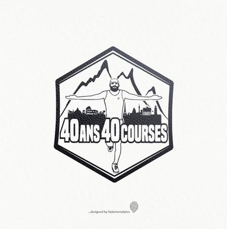 Logo by fadamentalpics - 40 ans 40 cours