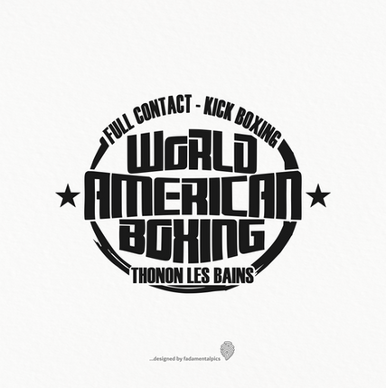 Logo by fadamentalpics - Boxe americaine