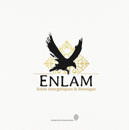 Logo by fadamentalpics - Enlam Soins Ene
