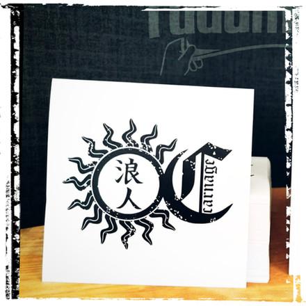 Stickers by fadamentalpics - Ronin Carna