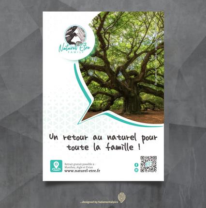 Flyer by fadamentalpics  -  Naturel'Etre