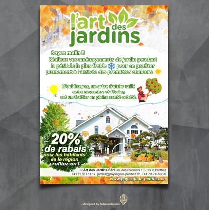 Flyer by fadamentalpics  -  L'art des Ja