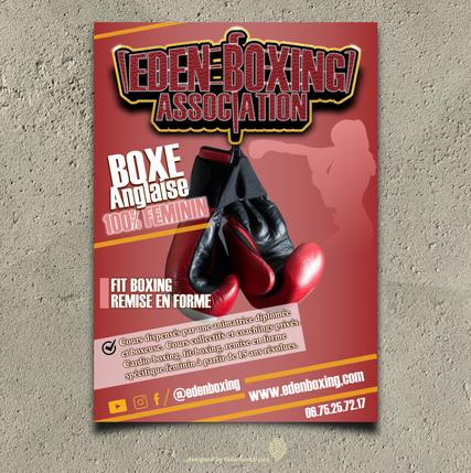 Flyer by fadamentalpics - Eden Boxing -.