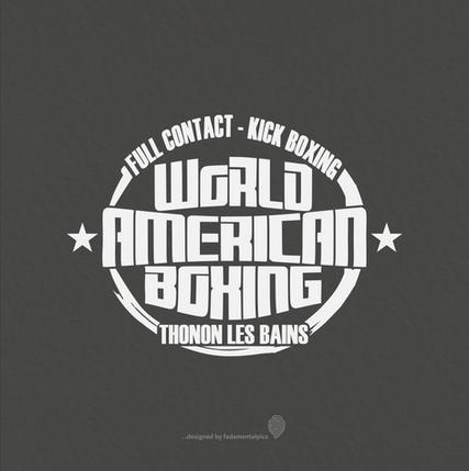 Logo by fadamentalpics - Boxe Américaine