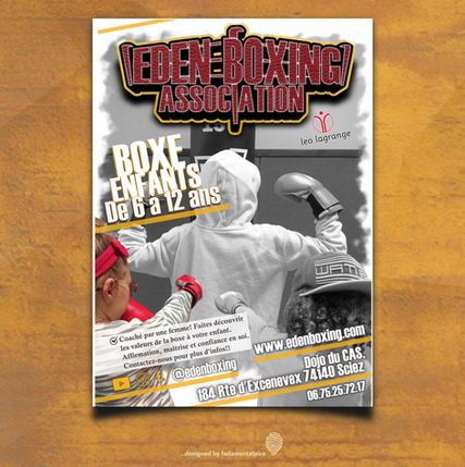 Flyer by fadamentalpics - Eden Boxing en