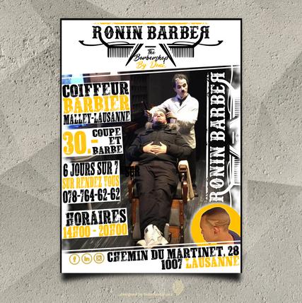 Flyer by fadamentalpics - Ronin Barber -