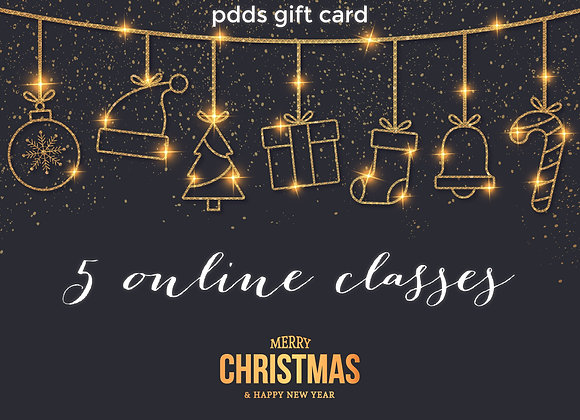 Five Online Classes