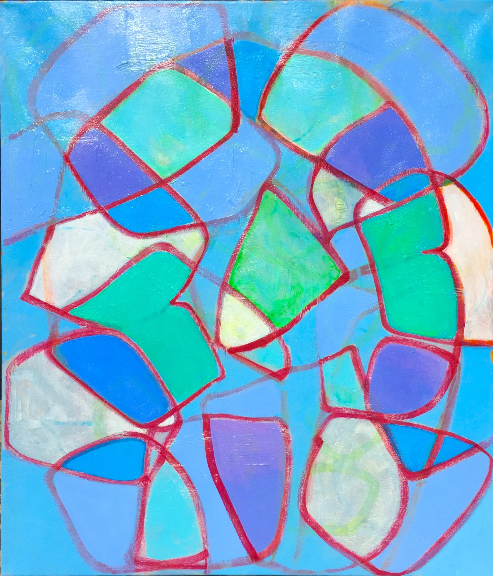 acrylic on canvas, 61x71cm