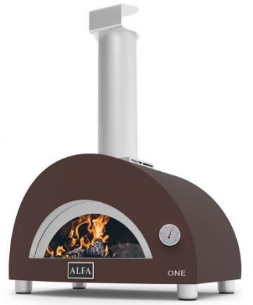 Alfa One Gas Fired Oven in Bronze (FXONE-GRAM)