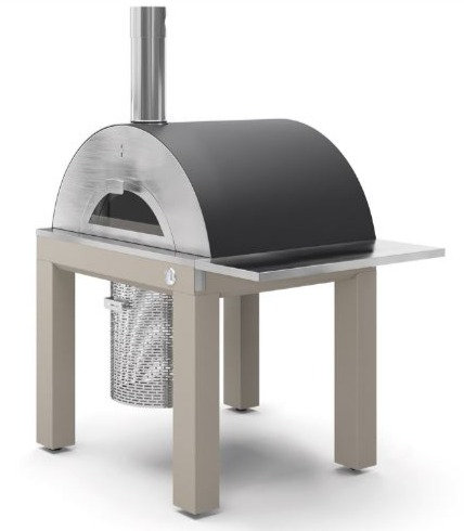 Fontana Riviera Wood Fired Oven with Cart (Riviera_Cart_Wood)