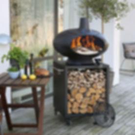 Morso_Forno_Terra_set_Kitchen in the Gar