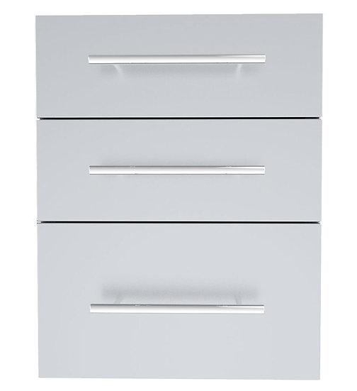Sunstone Designer Triple Drawer (DE-TD23)
