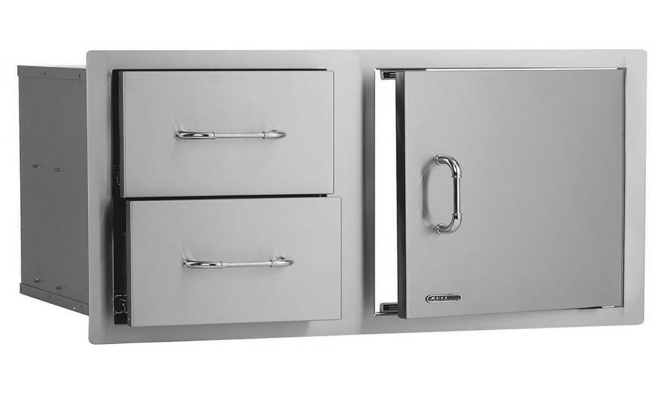 Bull Twin Drawer & Door Combo (97cm) (55875)
