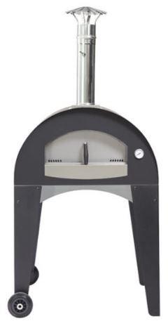 Fontana Capri Line Wood Fired Oven with Integrated Cart (Capri_Cart_Wood)