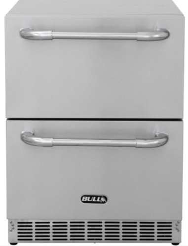 Bull Premium Double Drawer Outdoor Rated Stainless Steel Fridge (17400CE)