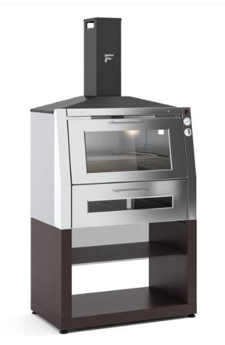 Fontana Char-Oven, BBQ Grill and Oven (With Stand) (Char_Oven_Cart)