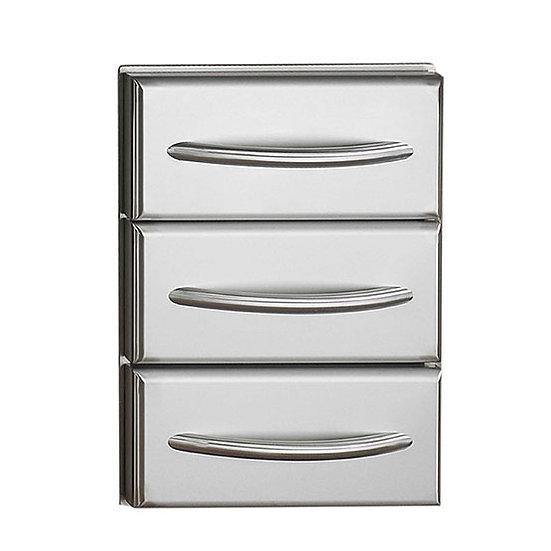 Napoleon Built-in Triple Drawer