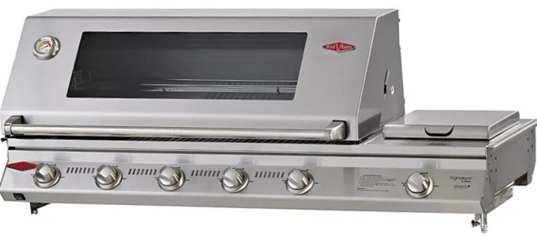 BeefEater 5+1 Burner SL4000S 1334mm Built-in Gas Grill with Side Burner BS51560