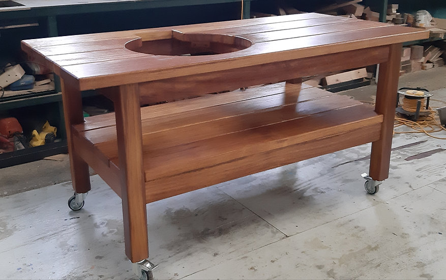 Woodland Mill Iroko Table