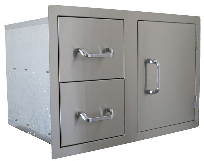 BeefEater Twin Drawer & Door (24230)